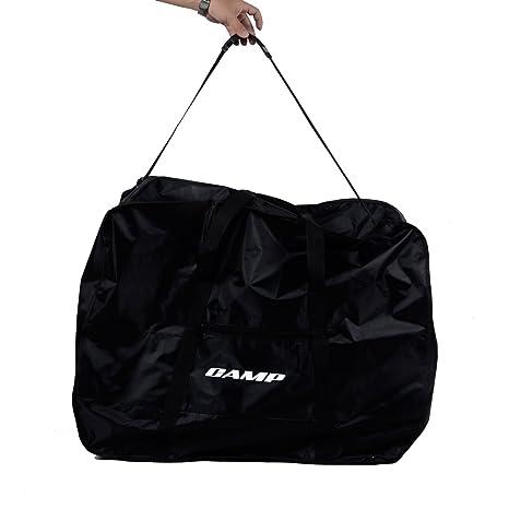 edc6c46857 Amazon.com   Camp 20 inch Folding Bike Bag Black   Sports   Outdoors