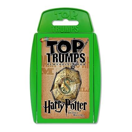Top Trumps Harry Potter y las reliquias de la muerte Parte 1 Juego de cartas
