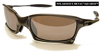 7db28031979 OAKLEY OO POLARIZED X SQUARED Sunglasses OO6011-08 ~ Carbon Colour Frame  with OO Black