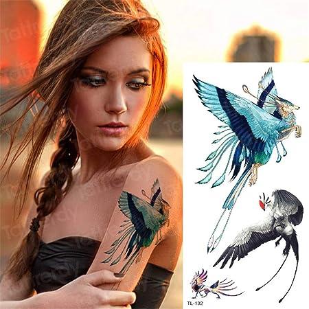 tzxdbh 3 Unids-Tatuaje Temporal Animales Transferencia de Agua ...