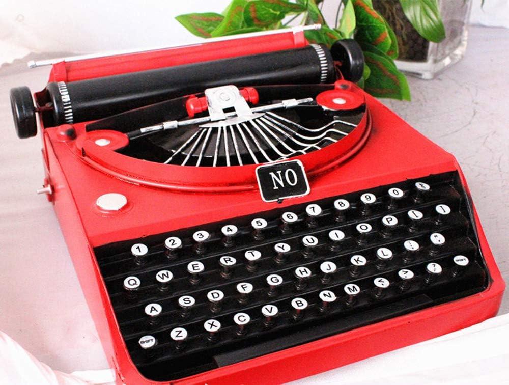 Retro Spieluhr Alte Schreibmaschine Form Büro Hause Dekoration Geschenk