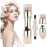 4 in 1 Makeup Brush Set, Eyeshadow Eye Lip Face Concealing Blush Foundation Brush by Pretty Comy