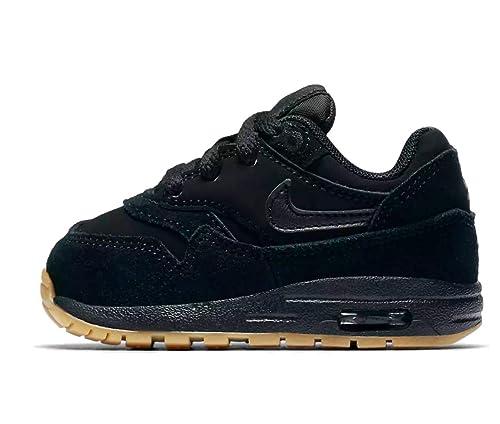 Nike Air Max 1 (TD) Sneakers BlackBlackGum Light Brown