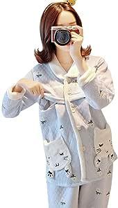 Camisones Pijamas Pijamas Embarazadas para Mujer de algodón ...