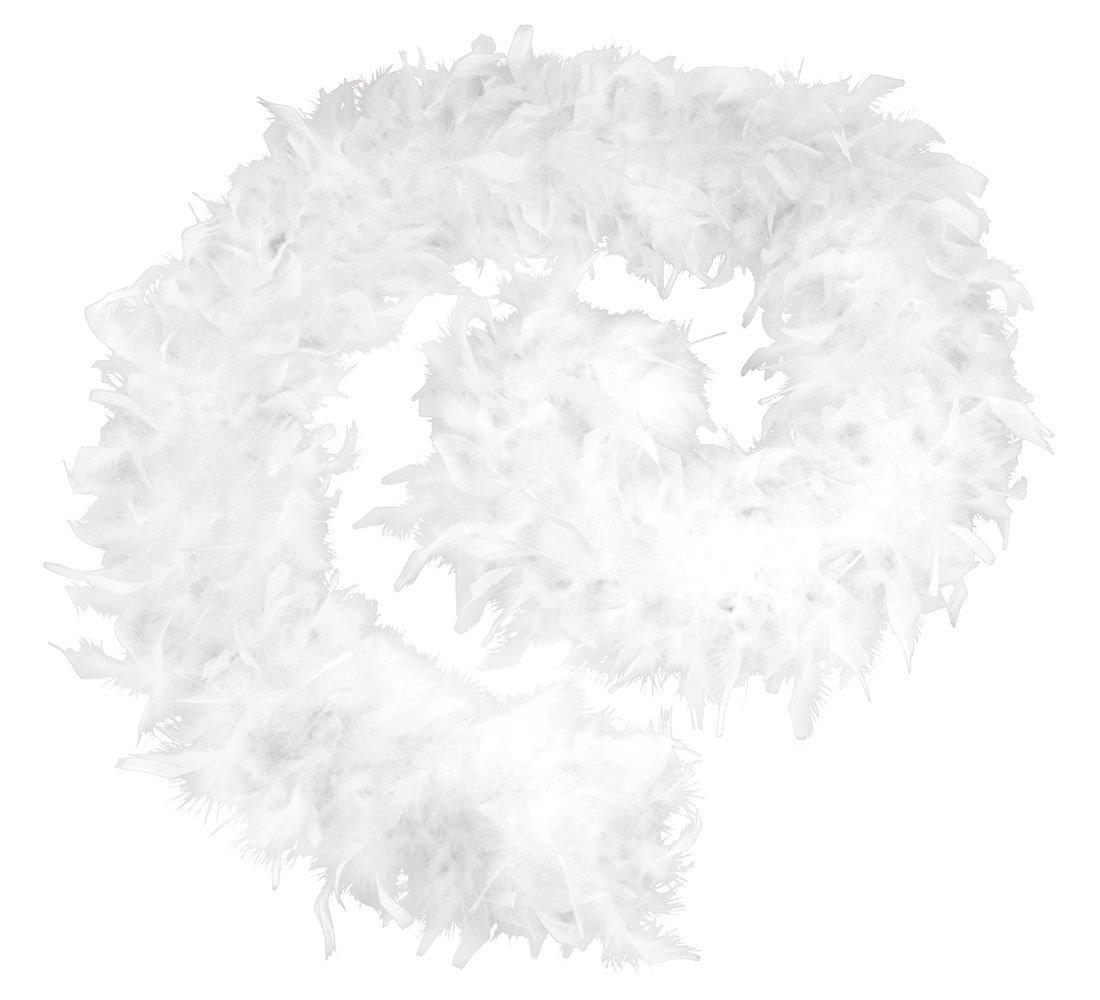 Bristol BA1672 Boa de Plumas 80 g Color Blanco