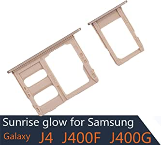 BisLinks/® Replacement For Samsung Galaxy A10 Dual Sim Micro SD Memory Card Tray Slot Holder Blue A105F