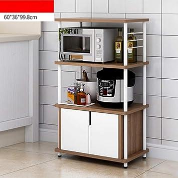 NAN Liang Küche Mikrowelle Regal, Küche Schrank Regal, Küche ...