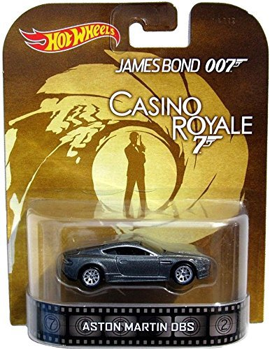 "Aston Martin DBS James Bond 007 ""Casino Royale"" Hot Wheels 2014 Retro Series Die Cast Vehicle"