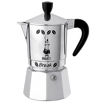 Amazon.com: Bialetti para 6 tazas romper cafetera de ...