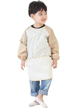 Baby Boy Girl Toddler Children Waterproof Long Sleeve Bib Art Apron Smock