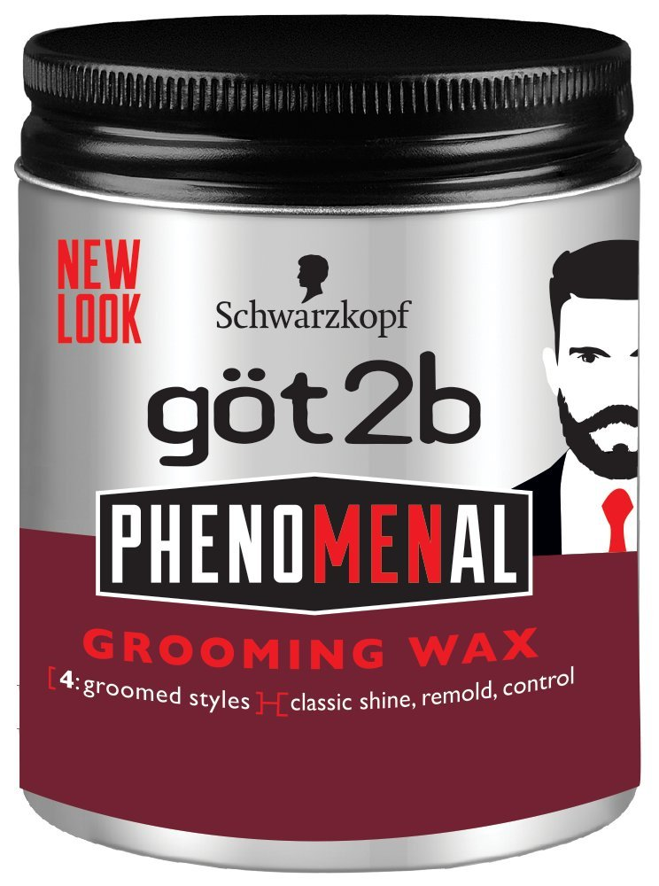 got2b PhenoMENal Grooming Wax for Men, 99g (2112928) Henkel Canada 52336913325