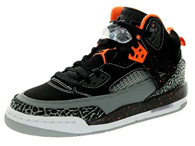 brand new b18b1 e00e6 Jordan Spizike (GS) Baskets Junior - Noir - Black Electric Orange-Cool Grey-Wolf  Grey,  Amazon.fr  Chaussures et Sacs