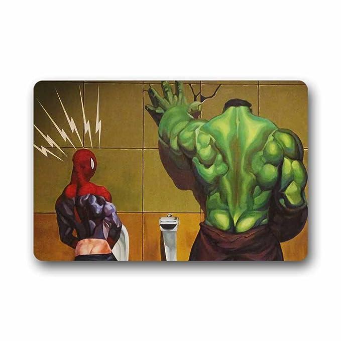 Amazon.com: Custom Hulk y Spiderman se puede lavar a máquina ...