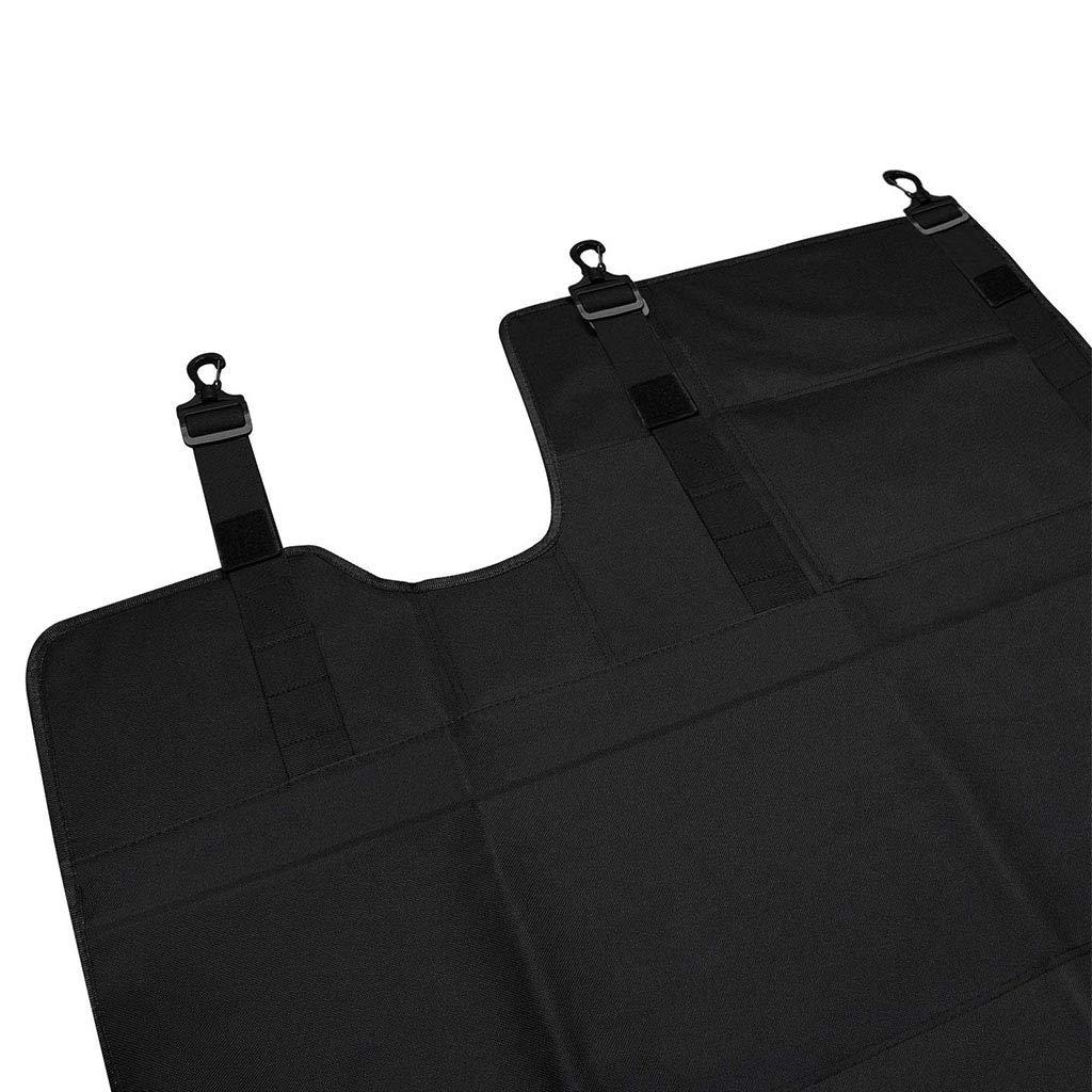 Psler Car Redar Trunk Cargo Cover Shield Pad Protector de cortina para Wrangler JL 2018-2019