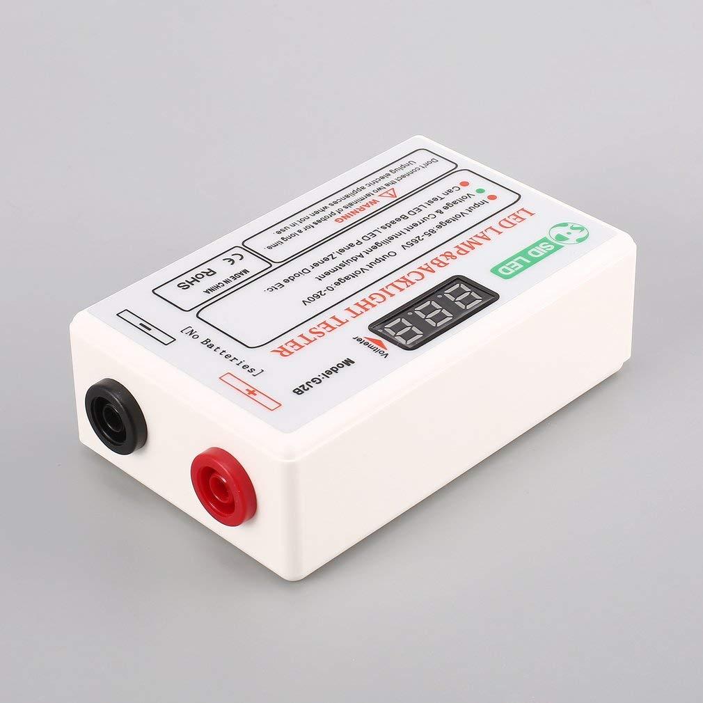 Gj2b Voltage Led Lcd Tv Screen Backlight Zener Diode Tester Meter Circuit In Addition Lamp Strip Bead Light Board Test Tool Output 0260v Us Plug