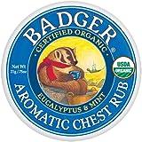 Badger Mini Aromatic Chest Rub Balm