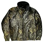 Joe's USA TM - Mossy Oak New Break-Up Heavyweight Fleece Camo Jacket X-Small
