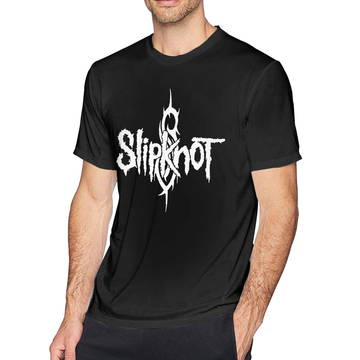 Anquyiceng Slipknot Fashion Mens For Nager Black Shirts