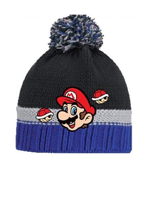 d8c4c6448b3 Boys Kids Super Mario Sonic The Hedgehog Winter Hat Glove Set 4 5 6 7 Years  Fleece Cold Weather Gear  Amazon.co.uk  Clothing