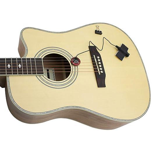 Amplificador de micrófono para guitarra acústica.: Amazon.es ...