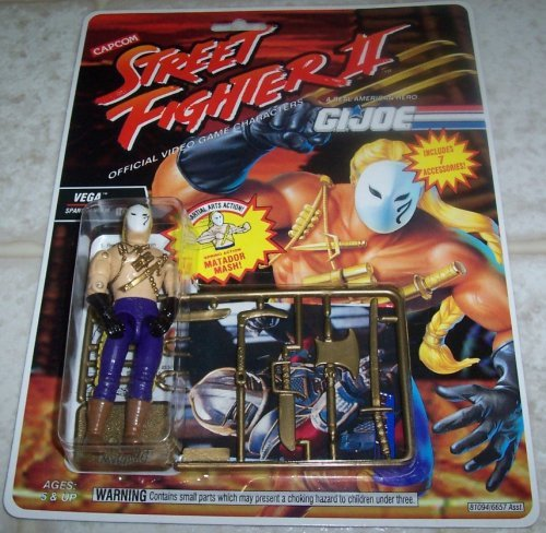 G.I. Joe Street Fighter II Vega Spanish Ninja 3 3/4