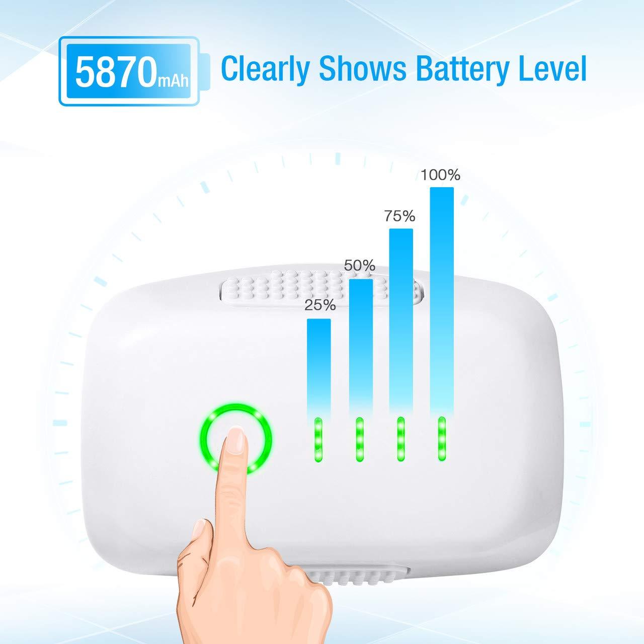 Powerextra High Capacity Phantom 4 Series (15.2V 5870 mAh) LiPo Flight Battery + Battery Safe Bag Replacement for DJI Phantom 4, Phantom 4 Pro, Phantom 4 Pro V2.0, Phantom 4 Advanced Drone - Upgrade by Powerextra (Image #4)