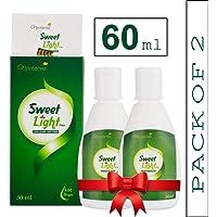 Nectarea Sweet Light Drops 60 ml Zero Calorie Sugar Free Liquid Sweetener - Pack of 2 (1200 Drops)