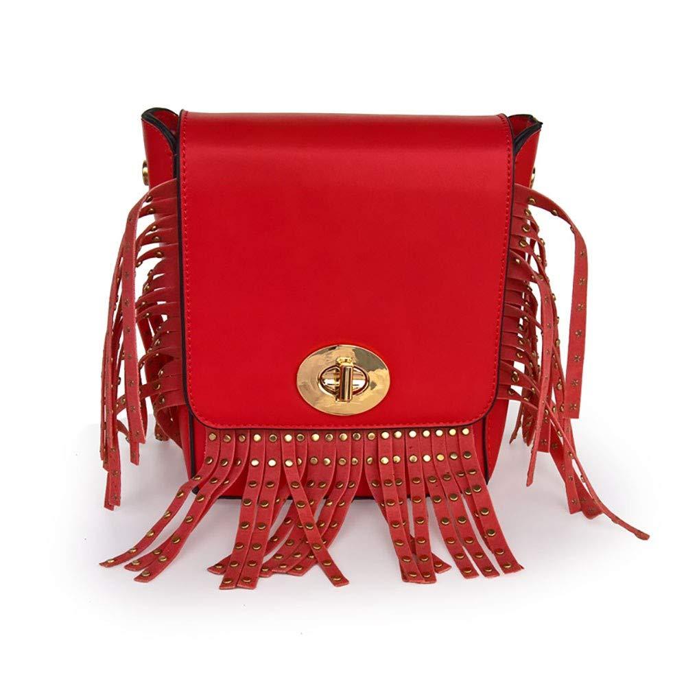 CBCAlady tasche pu - lady tasche mode - nagel handtasche geneigten umhängetasche B07PFCDDC7 Schultertaschen