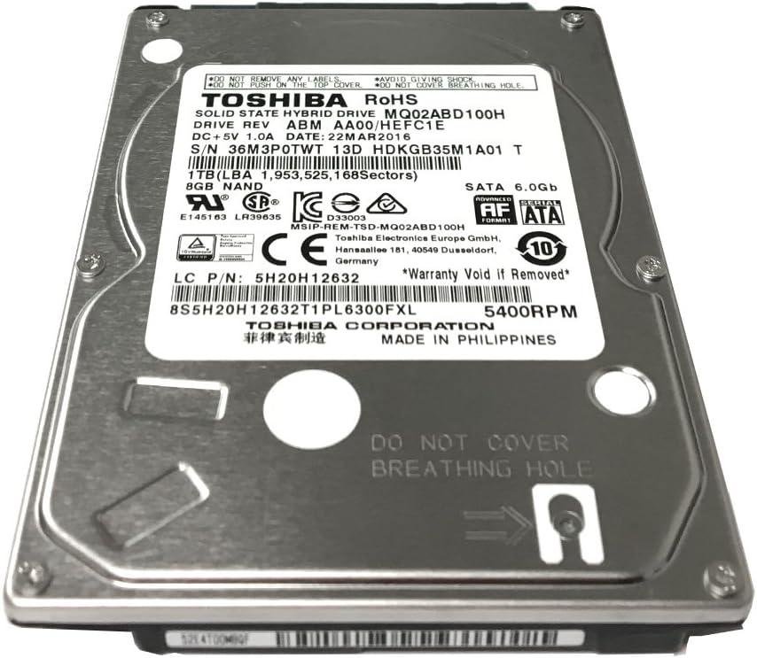Toshiba MQ02ABD100H - Disco Duro híbrido de Estado sólido (SSHD ...