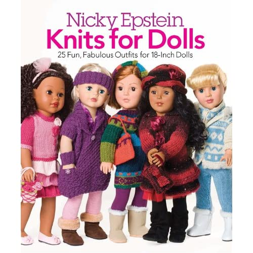 Knit Doll Clothes Patterns Amazon