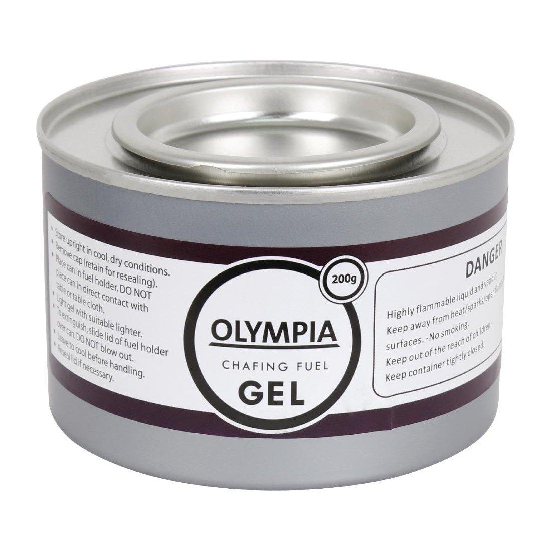 Combustible en gel Olympia CE241 para hornillo calentador, de 200 g (pack de 12): Amazon.es: Industria, empresas y ciencia