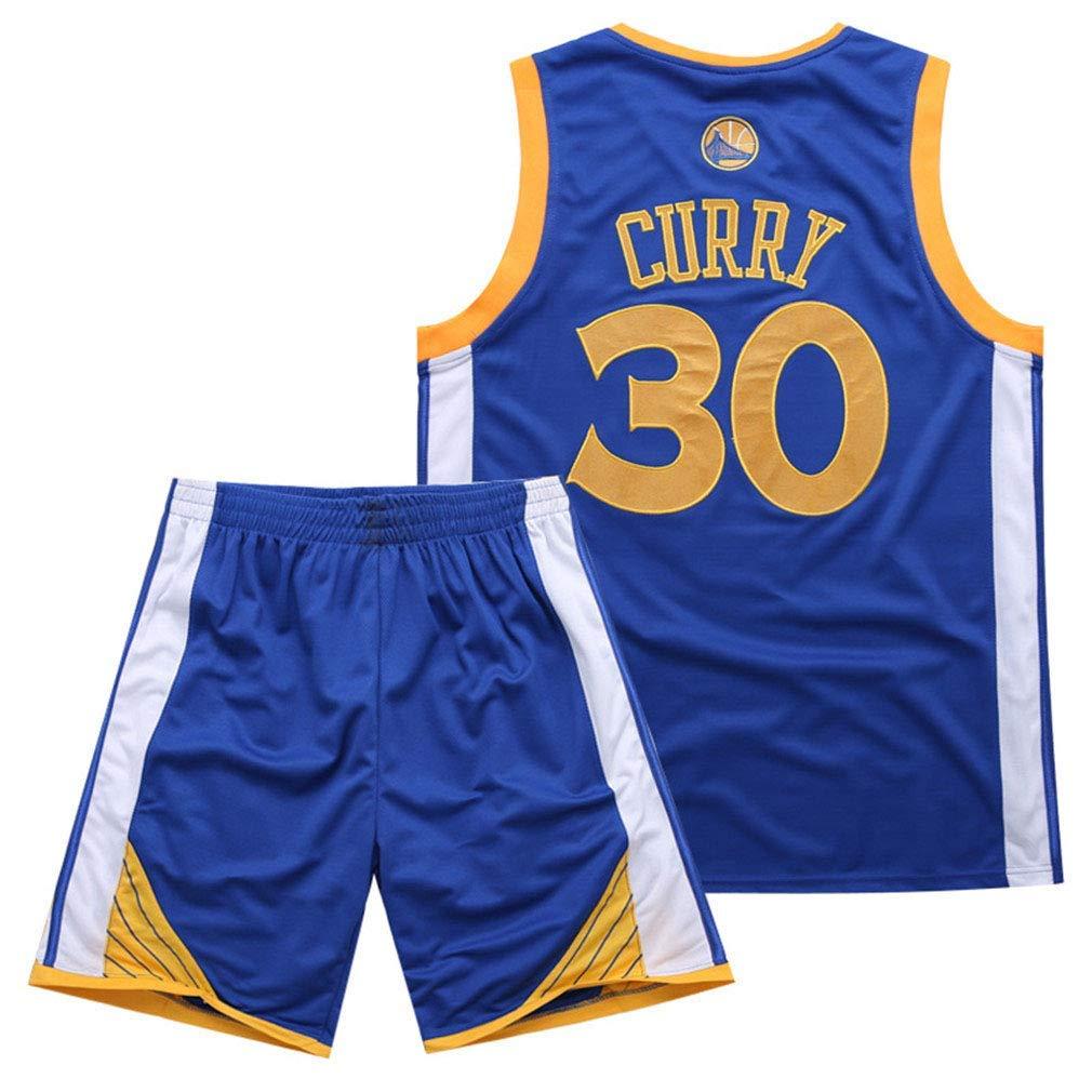 AFDLT NBA NBA NBA Warriors Curry 30. Jersey-Stickerei-Anzug B07PQ1RNDG Herren Elegant cf3064
