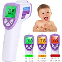 Baby Forehead Thermometer, Lyle Non-Contact Body Infrared Digital Thermometer, Instant Reading with LCD Display, Suitable for Infant/Toddler/Children/Adults/Object Temperature Measuring