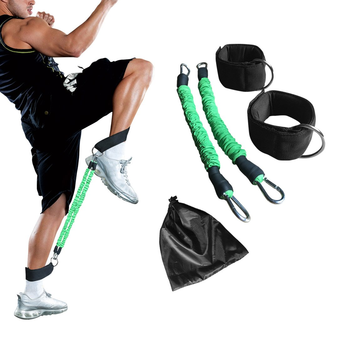 Ankle Resistance Training Speed and Agility Training Tool Ankle Resistance Bands for Football Basketball Taekwondo Yoga…