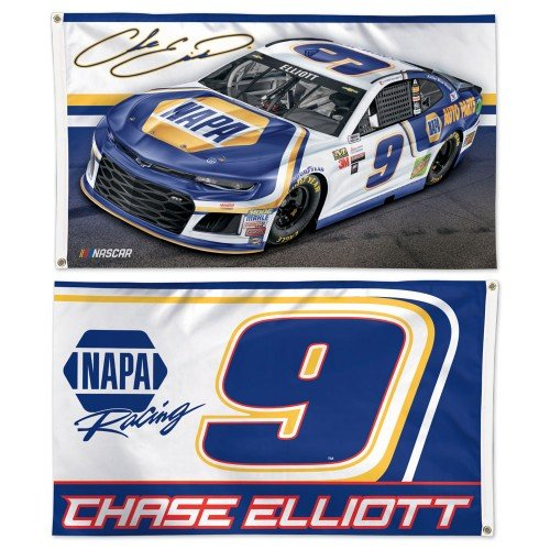 NASCAR Driver 3x5 2-sided Flag with 2018 Graphics (Chase Elliott) - Two Sided Banner Flag