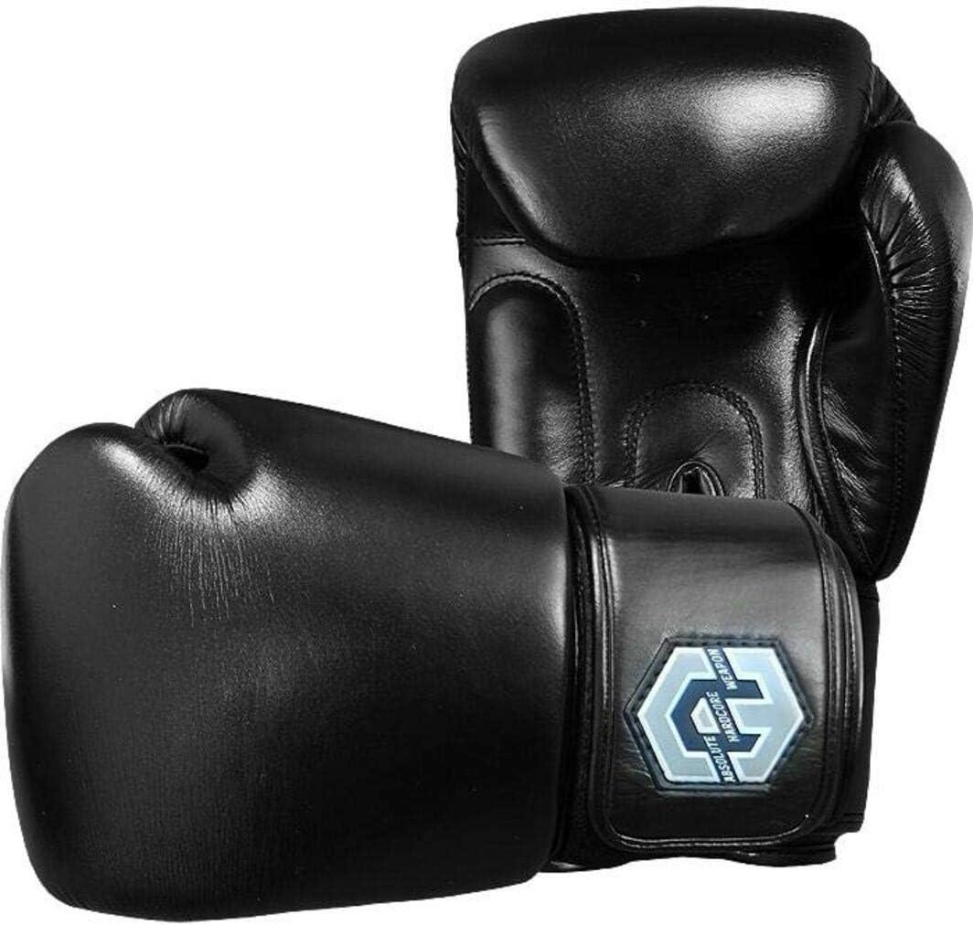 ボクシンググローブ Boxing Gloves Absolute Weapon X Twins 黒 キックボクシング 武道 ムエタイ スパーリング  12oz