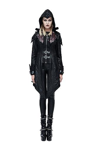 Devil Fashion – Abrigo – para mujer