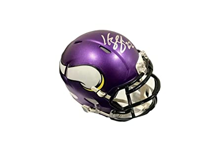 2179ab915ec Harrison Smith Minnesota Vikings Autographed Signed Mini Helmet Memorabilia  - JSA Authentic