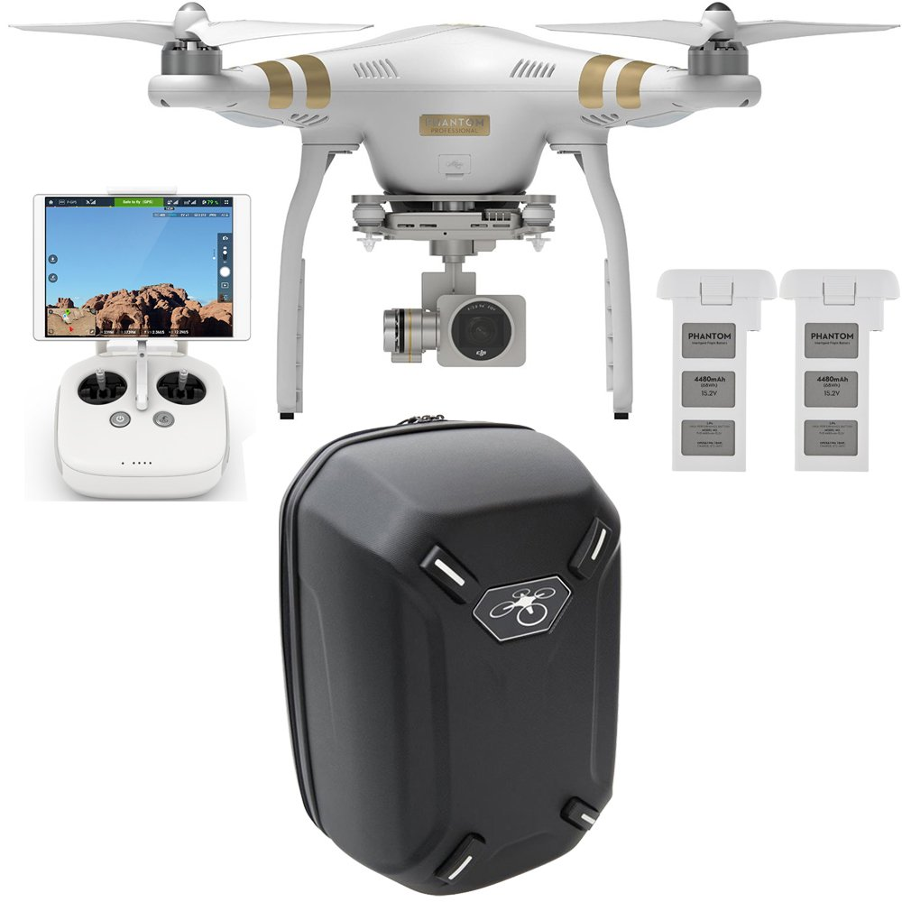 Amazon.com : DJI Phantom 3 Professional Quadcopter with 4K Camera ...