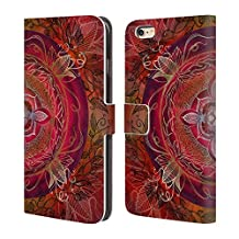 Official Brenda Erickson Root Chakras Leather Book Wallet Case Cover For Apple iPhone 6 Plus / 6s Plus