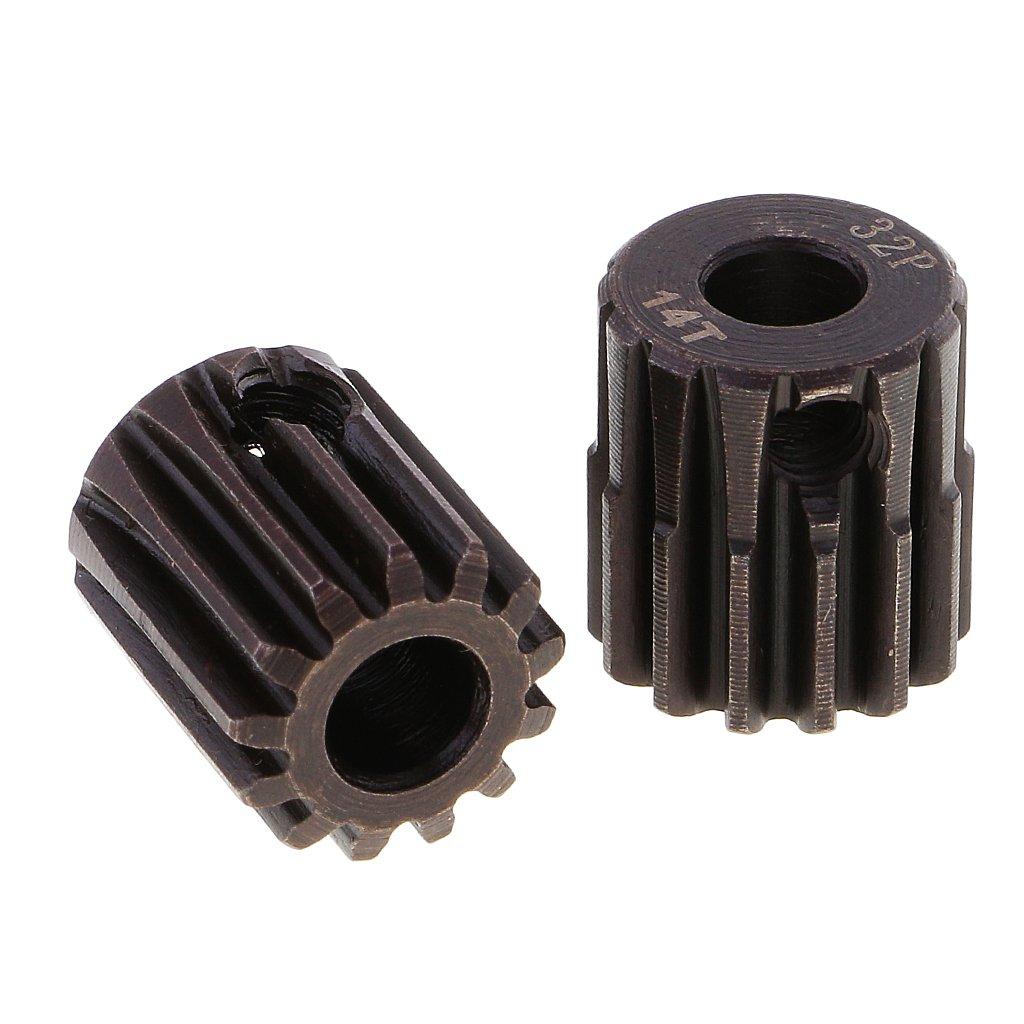 Sharplace 32DP 5mm 13T-17T Engranaje de Motor Sin Escobillas de Pi/ñ/ón para 1//10 Coche RC