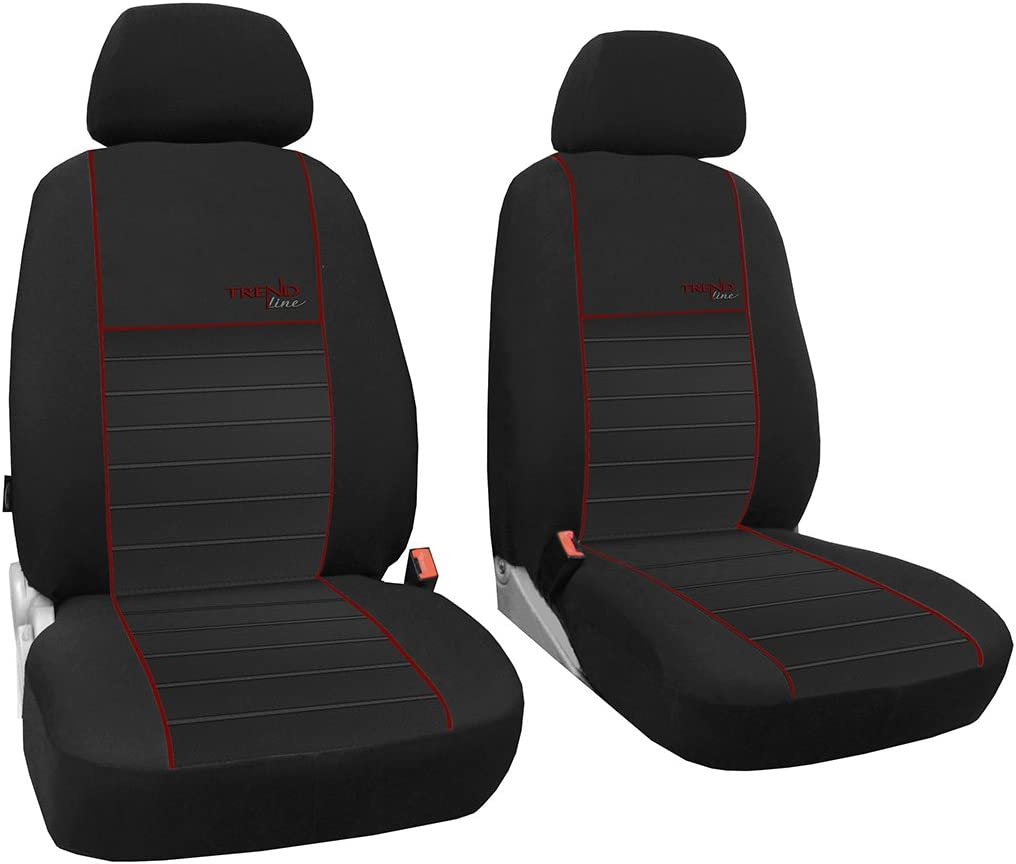 erh/ältlich in 7 Farben Ma/ßgefertigter Sitzbezuge//Vordersitzbez/üge Beste Qualit/ät Sitzbez/üge im Design TREND LINE Beifahrersitz F/ür VW T3 Transporter . Modellspezifischer Sitzbezug Fahrersitz