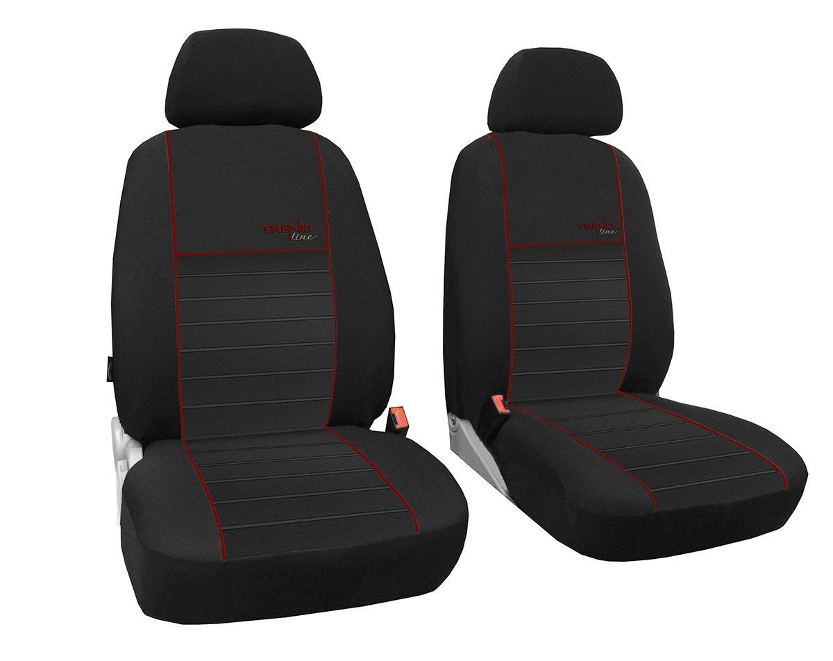 In 6 Farben bei Anderen Angeboten erh/ältlich Farbe rot Sitzbez/üge passend f/ür Doblo Design Trend line POK-TER-TUNING Vordersitzbez/üge 1+1