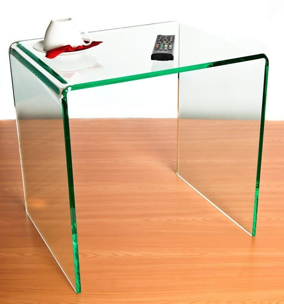 Wrights Plastics GPX Silicio (effetto vetro) acrilico laterale/tavolino Wrights Plastics Ltd