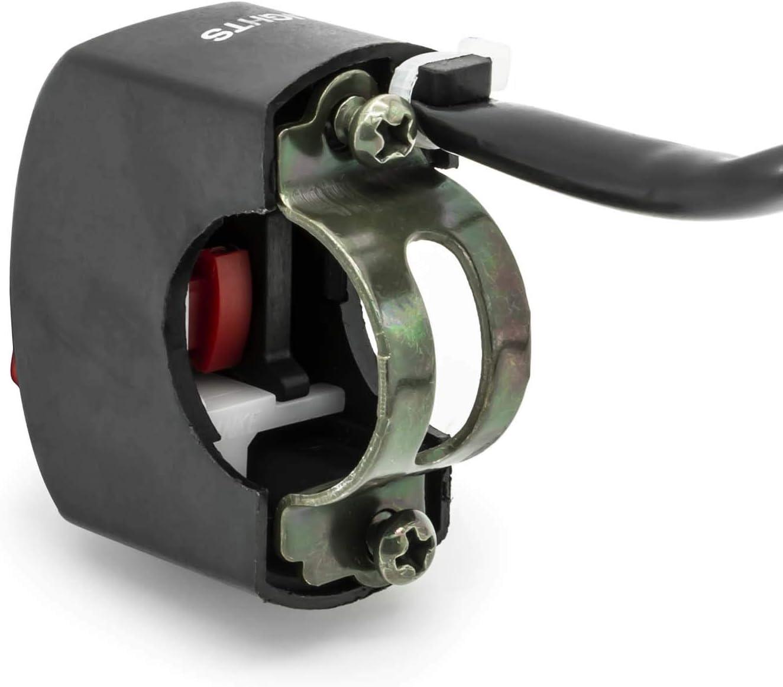 Motorrad Roller Lenker Lenk Stange Scheinwerfer Ein Aus Licht Schalter 6V 12V