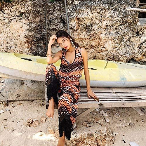 Hot M Elegante Come Mostrato Mostrato Nero Da Bagno Sexy colore Springs Nero Dimensione Taglia Oudan Unica Costume IzgqYY