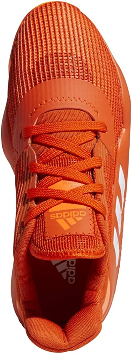adidas Pro Bounce 2019 - Zapatillas bajas para baloncesto para hombre Equipo Naranja Blanco Solar Naranja
