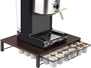 NEX Storage Drawer Holder for K-cup Coffee Pods - 36 Pods Capacity