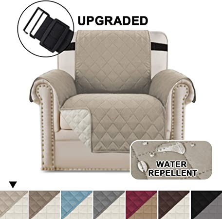 Reversible Chair Cover Armchair Slipcover Chair Protector Stay In