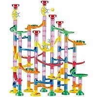 Marble Run Race Set Kinderen DIY Bouwstenen Bouw Game Speelgoed voor Gift 133 stks Outdoor Toys